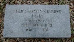 Helen Lawrason <i>Kilpatrick</i> Fisher