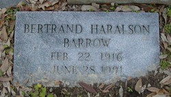 Bertrand Haralson Barrow