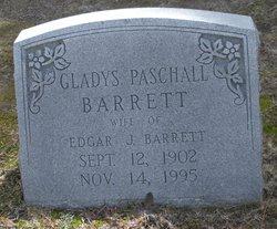 Gladys Margaret <i>Paschall</i> Barrett