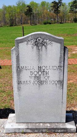 Amelia <i>Holliday</i> Booth