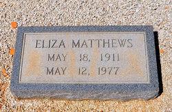 Eliza <i>Matthews</i> Booth