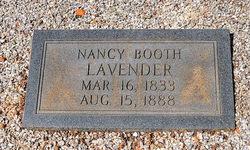 Nancy Elizabeth <i>Booth</i> Lavender