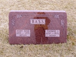Mary Jane <i>Ward</i> Bass