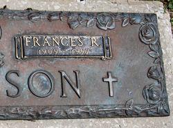 Mary Frances <i>Rogers</i> Atkinson