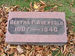Bertha P Abersold