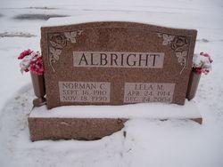 Lela M <i>Harbaugh</i> Albright