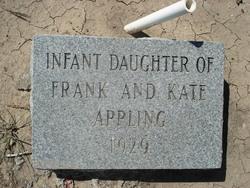 Infant Daughter Appling