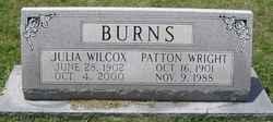 Julia <i>Wilcox</i> Burns