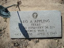 Corp Leo Addison Appling