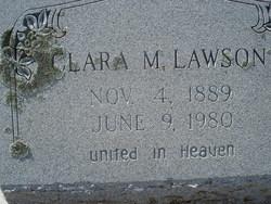 Clara M <i>Appling</i> Lawson