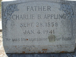 Charles Burwell Charlie Appling