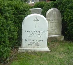 Patricia <i>Castles</i> Acheson