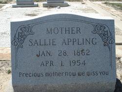 Sallie <i>Dromgoole</i> Appling