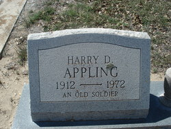 Maj Harry Duncan Appling