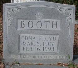 Edna <i>Floyd</i> Booth