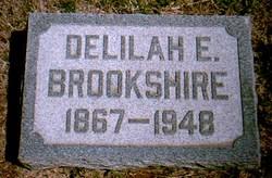 Delilah Elizabeth <i>Gardner</i> Brookshire