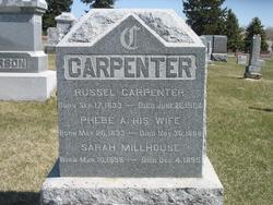 Sarah Lucretia <i>Carpenter</i> Millhouse