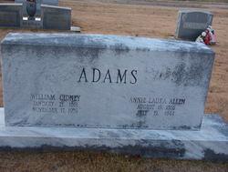 William Cidney Bill Adams, Jr