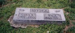 Cora B. <i>Mannen</i> Hodge