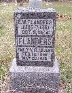 Emily Victoria <i>Lang</i> Flanders