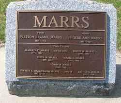 Edith W Marrs