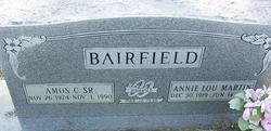 Annie Lou <i>Martin</i> Bairfield