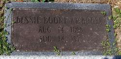 Bessie <i>Boone</i> Ambrose