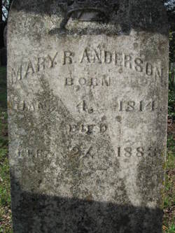 Mary Russell <i>Caldwell</i> Anderson
