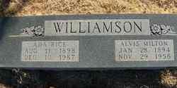 Alvis Milton Williamson