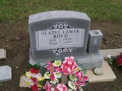 Gladys <i>Lamar</i> Boyd