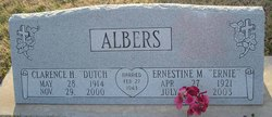 Clarence Henry Dutch Albers
