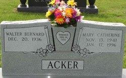 Mary Catherine <i>Walterscheid</i> Acker