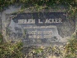Helen Louise <i>McKee</i> Acker