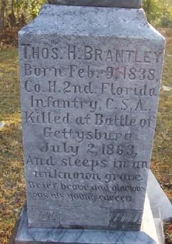 Thomas H Brantley