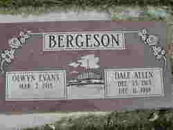 Dale Allen Bergeson