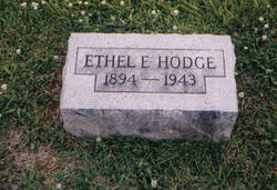 Ethel E. <i>Fairchild</i> Hodge