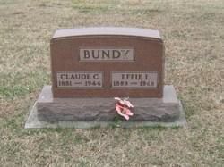 Effie I. <i>Bush</i> Bundy