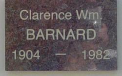 Clarence William Barnard