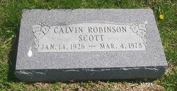 Calvin Robinson Scott