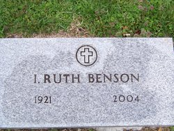 I Ruth Benson