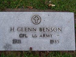 H Glenn Benson