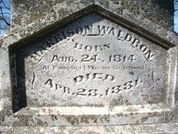 Harrison Waldron