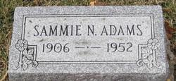 Sammie N Adams