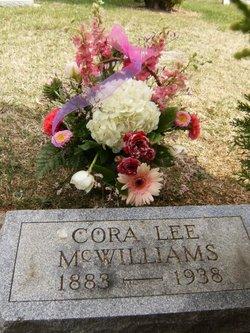 Cora Lee <i>Hunter</i> McWilliams