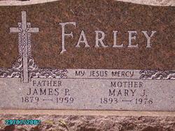 Mary Jane <i>Henle</i> Farley