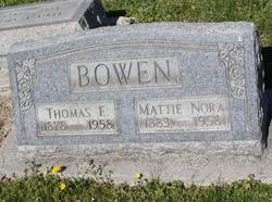 Mattie Nora Bowen