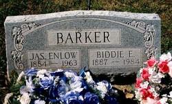 Biddie E <i>Cooksey</i> Barker