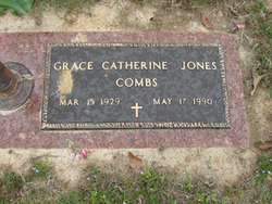Grace Catherine <i>Jones</i> Combs