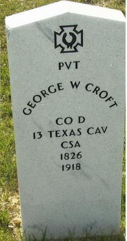 George Washington Croft