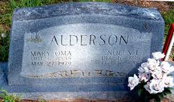 Mary Oma <i>Broyles</i> Alderson